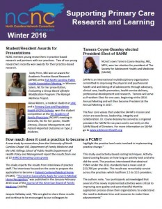 Winter 2016 Newsletter