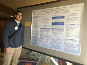 Paul Alvarez wins the 2016 NCAFP Student Poster Award